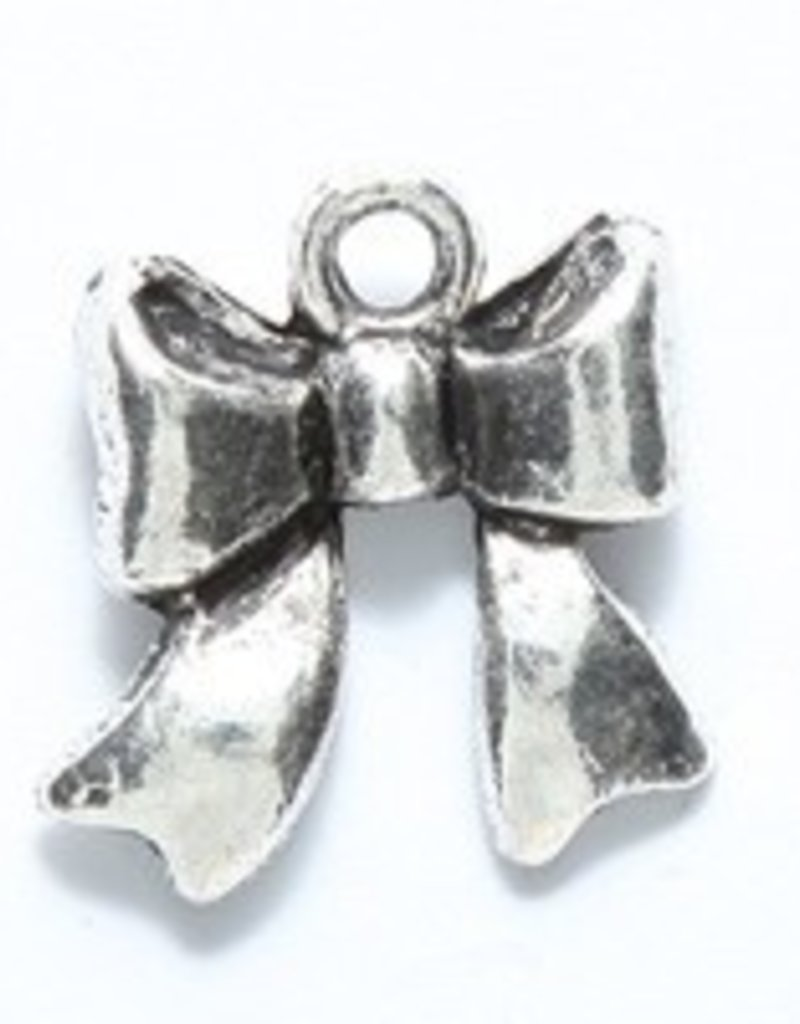 1 PC ASP 17x15mm Bow Charm