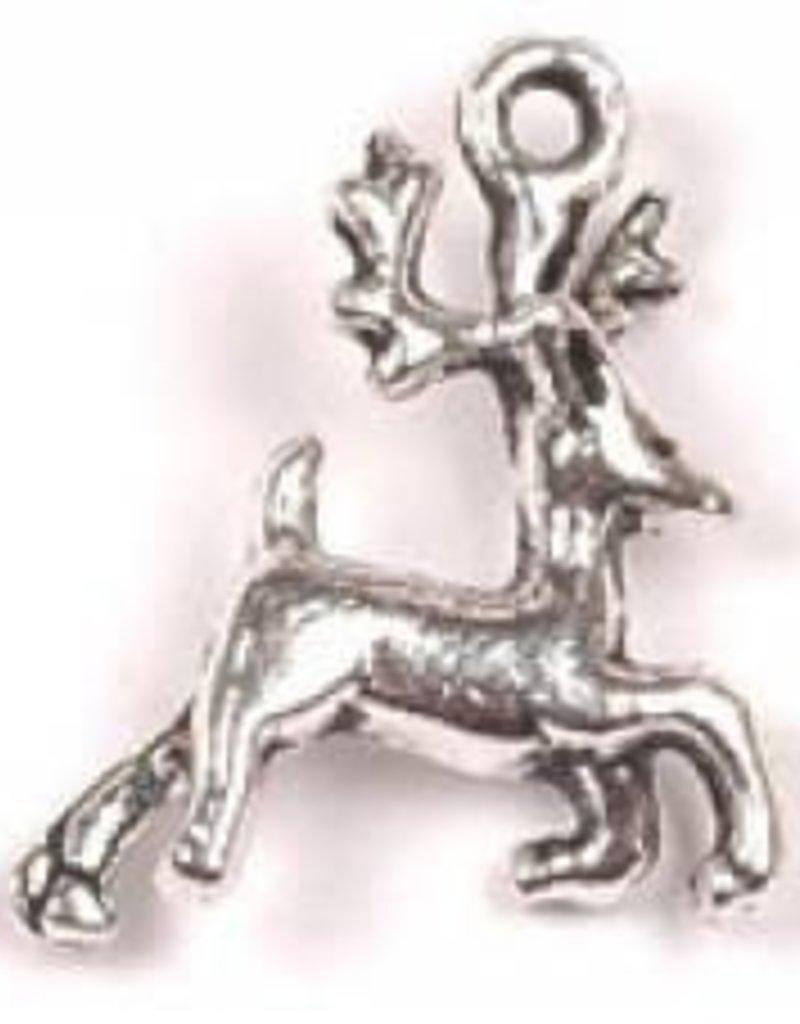 1 PC ASP 22x16mm Reindeer Charm