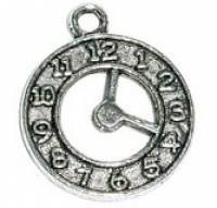 1 PC ASP 21x18mm Clock Charm