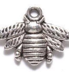 2 PC ASP 21x16mm Bumble Bee Charm