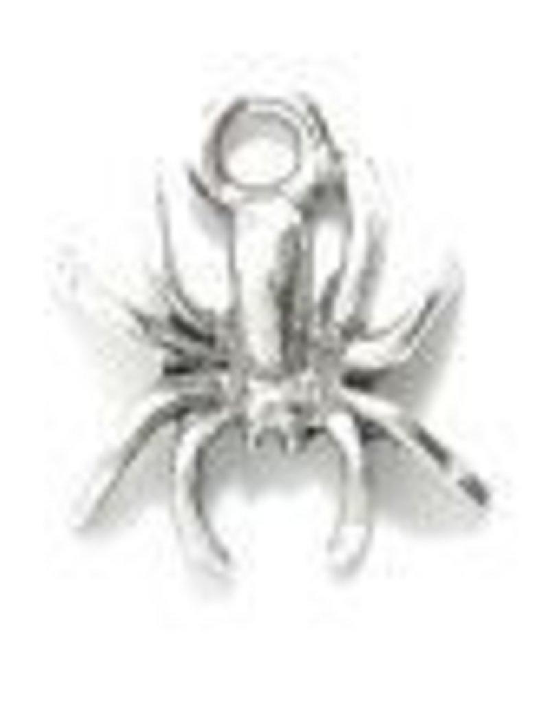 1 PC ASP 12x14mm Spider Charm