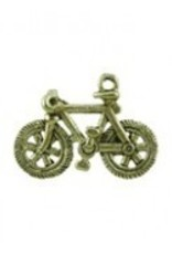 1 PC AGP 23x15mm Bicycle Charm