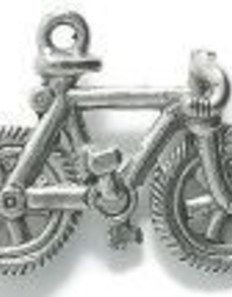 1 PC ASP 23x15mm Bicycle Charm