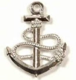 1 PC ASP 24x19mm Anchor & Rope Charm