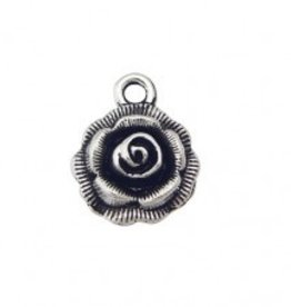 1 PC ASP 18x15mm Rose Charm