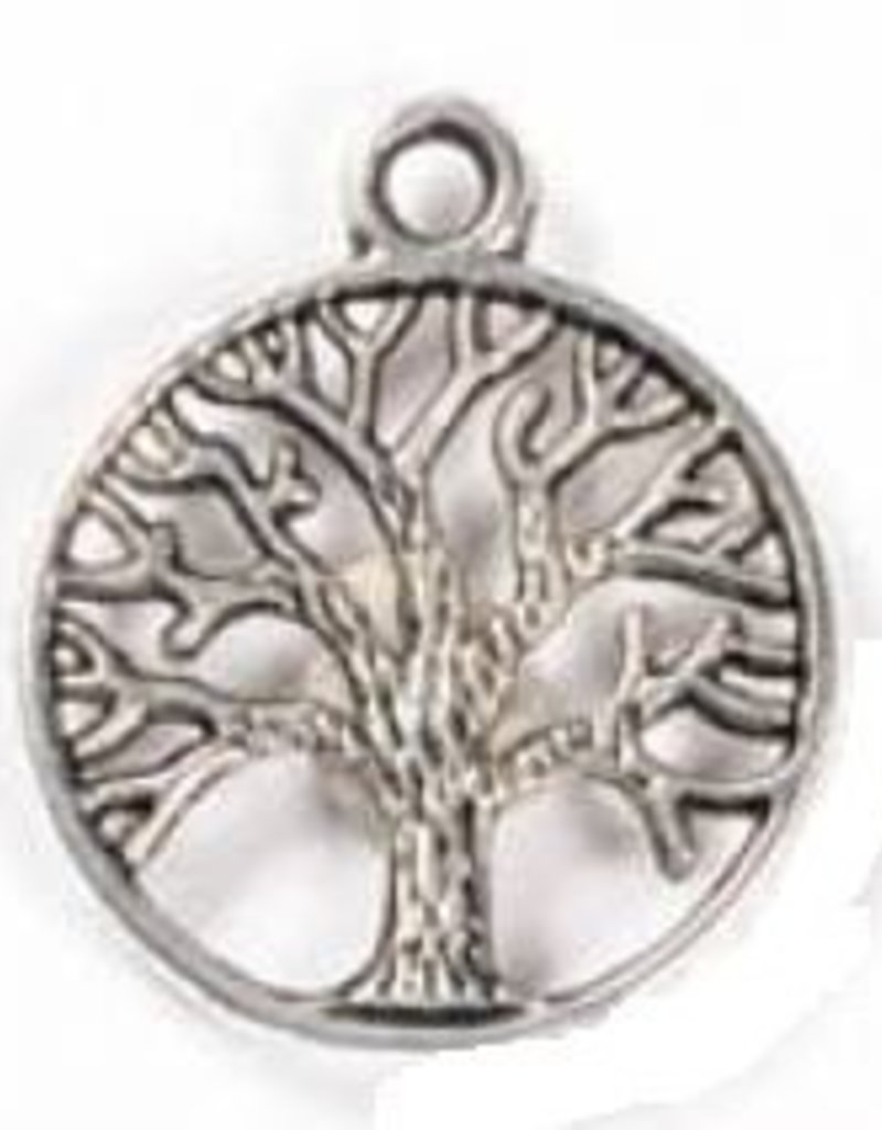1 PC ASP 24x20mm Tree of Life Cut-Out Charm