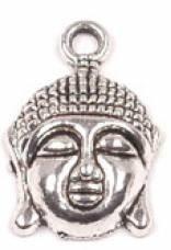 1 PC ASP 22x15mm Buddha Head Charm