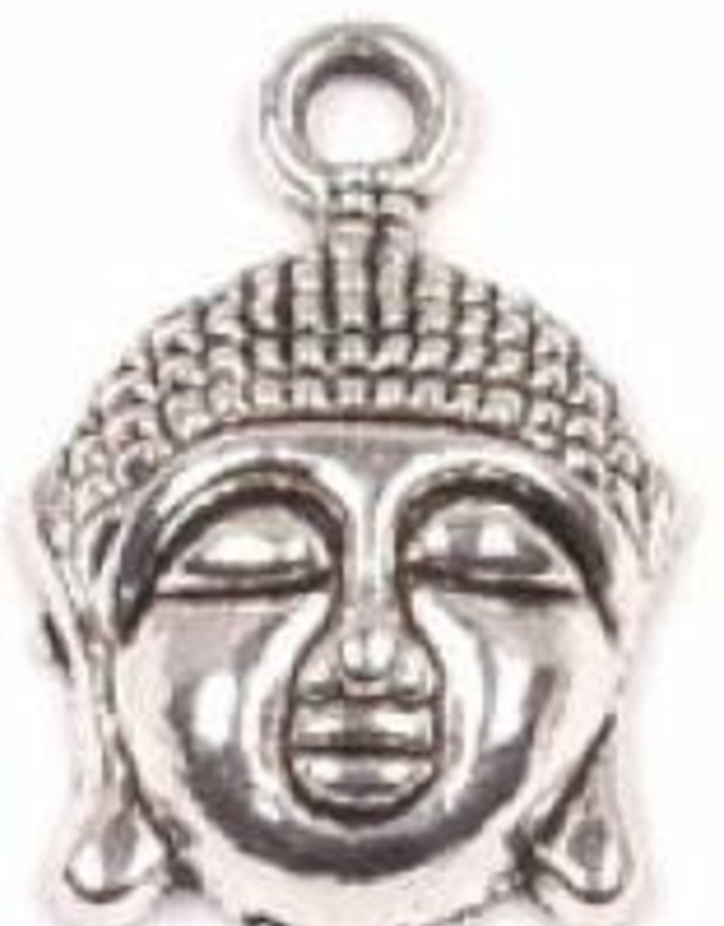 1 PC ASP 22x15mm Buddha Head Charm