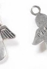"1 PC ASP 33x24mm ""Made For An Angel"" Charm"