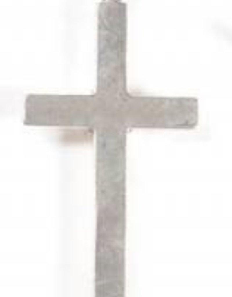 1 PC ASP 59x28mm Plain Cross Pendant