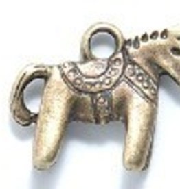 1 PC ABP 14x12mm Tiny Toy Horse Charm