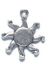 1 PC ASP 17mm Sun Beam Charm