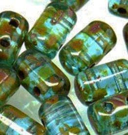 10 GM Rulla 3x5mm : Aquamarine - Picasso