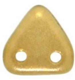 10 GM 6mm 2 Hole Triangle : Halo - Linen