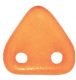 10 GM 6mm 2 Hole Triangle : Halo - Sandalwood
