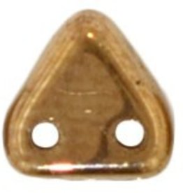 10 GM 6mm 2 Hole Triangle : Bronze