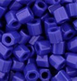 10 GM Toho 8/0 Hex : Opaque Royal Blue