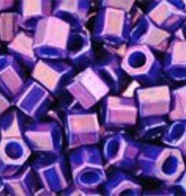10 GM Toho 8/0 Hex : Metallic Grape