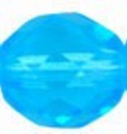 25 PC Firepolish 10mm : Aqua