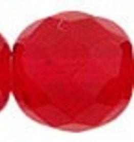 25 PC Firepolish 10mm : Siam Ruby