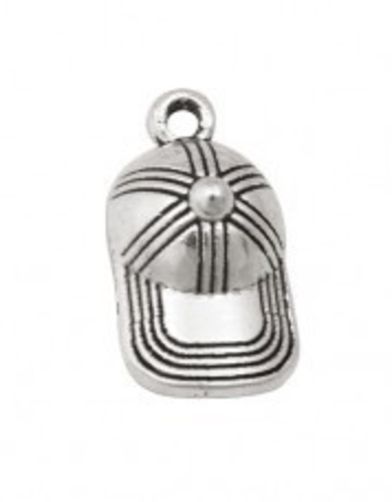 1 PC ASP 10x20mm Baseball Cap Charm
