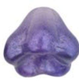 25 PC 8x6mm Baby Bell Flowers : Purple Salvia