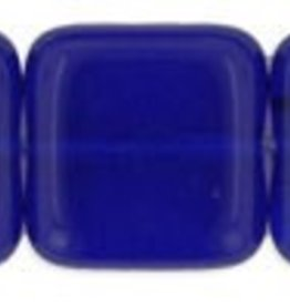 25 PC 9mm Flat Square : Cobalt
