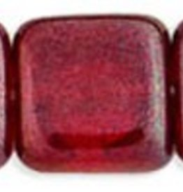 25 PC 9mm Flat Square : Siam Ruby Vega