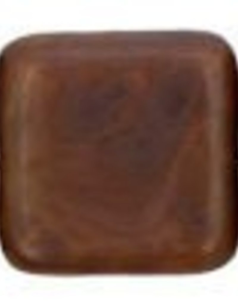 25 PC 9mm Flat Square : Caramel Picasso
