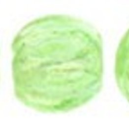 100 PC 3mm Melon : Peridot Luster Iris
