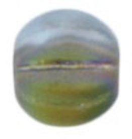 50 PC 5mm Melon : Matte Alexandrite Vitrail