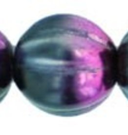 25 PC 8mm Melon : Marea Purple/Jet