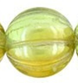 25 PC 8mm Melon : Chrysolite Celsian