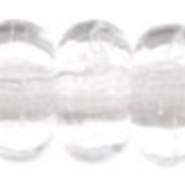 100 PC 3mm Rondell : Crystal