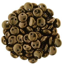 50 PC 6mm Lentil : Dark Bronze