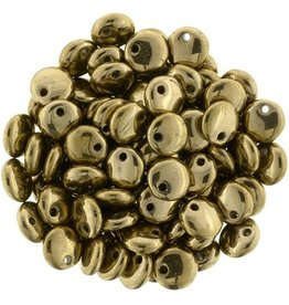 50 PC 6mm Lentil : Bronze