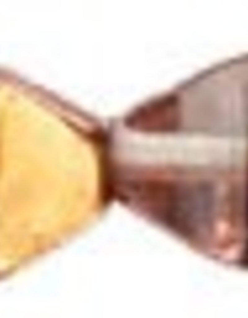 50 PC 6mm Bicone : Apollo Gold