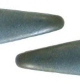 50 PC 5x16mm 2 Hole Dagger : Matte Brown Iris