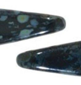 50 PC 5x16mm 2 Hole Dagger : Jet Picasso