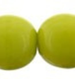 50 PC 6mm Round : Opaque Olive