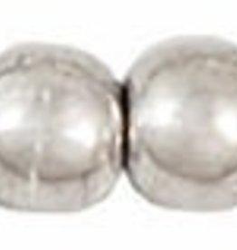 100 PC 3mm Round : Silver