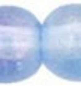 50 PC 4mm Round : Light Sapphire Luster Iris