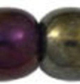 100 PC 4mm Round : Brown Iris