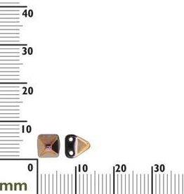 25 PC 6mm 2 Hole Pyramid : Jet Sliperit
