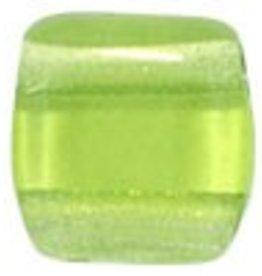 50 PC 6mm 2 Hole Tile : Olivine