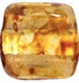 50 PC 6mm 2 Hole Tile : Crystal Picasso