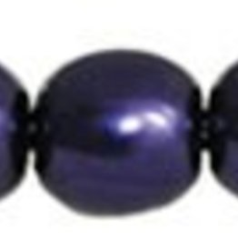 120 PC 4mm Round Glass Pearl : Purple