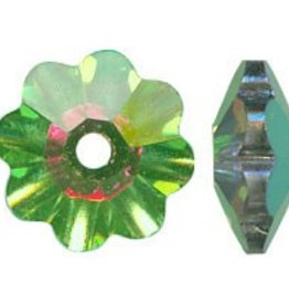 12 PC 6mm Swarovski Marguerite : Medium Vitrail