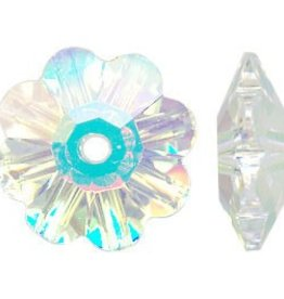 12 PC 8mm Swarovski Marguerite : Crystal AB