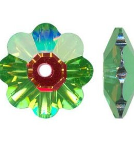 12 PC 8mm Swarovski Marguerite : Medium Vitrail